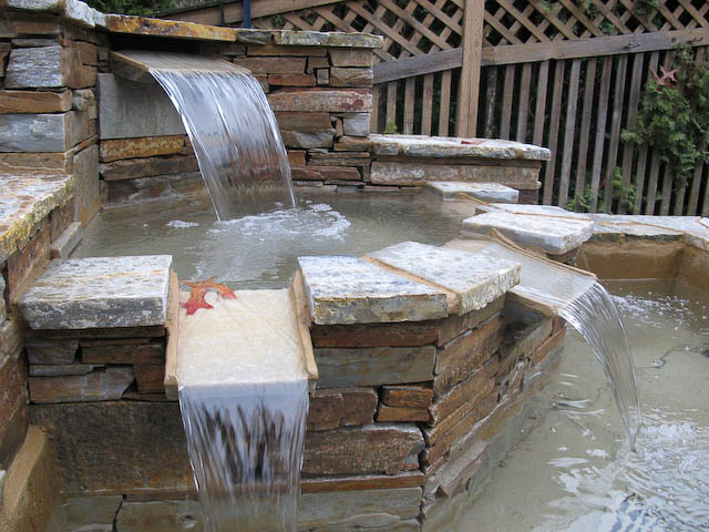 Flagstone Patio Amp Stone Fountain Eugene Springfield Or