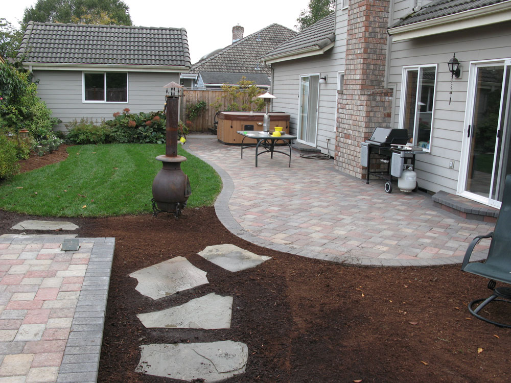 Before & After Paver Patio Landscape  Eugene, Springfield. Patio Furniture For Sale Kijiji Ontario. Outdoor Patio Recliner Chairs. Exterior Patio Materials. Green Plastic Patio Table. Small Outdoor Patio Garden. Home Depot Patio Paint. Deck Patio Design Pictures. Semco Plastic Patio Rocking Chair