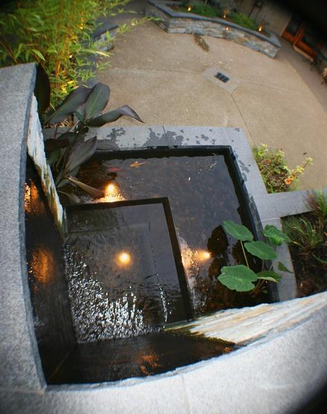 Formal Water Fountain Eugene Oregon